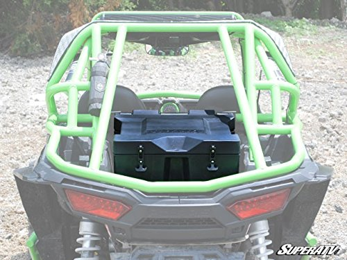 Polaris RZR XP Turbo Rear Cooler / Cargo Box by SuperATV RCB-P-RZR1K by SuperATV.com