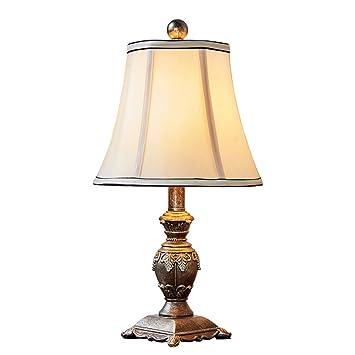 Lámpara de mesa americana dormitorio lámpara de cabecera ...