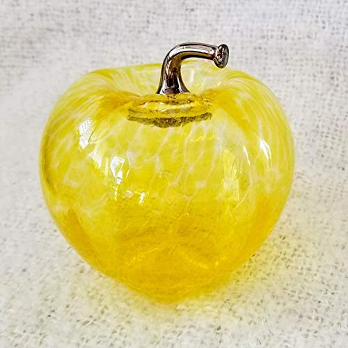 - Glass Apple - Golden Yellow