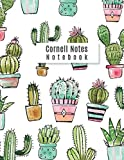 Cornell Notes Notebook: Cactus notebooks college ruled Cornell Note Paper Notes Taking Journal for School Students College