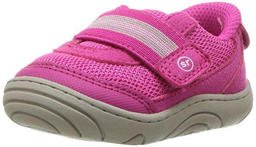 Stride Rite Girls' SR-Jessie Sneaker, Pink, 3 M US Infant ()