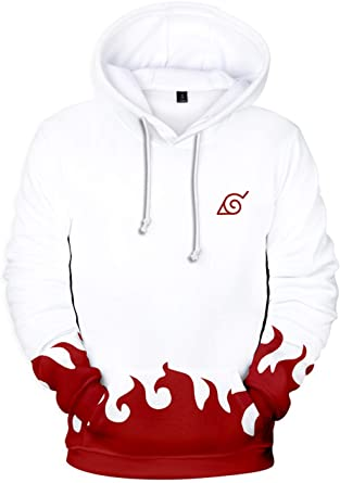 Sweats à Capuche, Motif Classique de Naruto Sweat Shirt