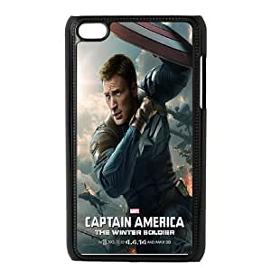 American Captain for Apple iPod Touch 4 Custom Phone Case AED289544