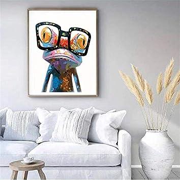 Malen nach Zahlen Kit f/ür Erwachsene Anf/änger bunt Tiere Malerei auf Leinwand 40,6/x 50,8/cm Charming Cat Frameless komking DIY /Ölgem/älde