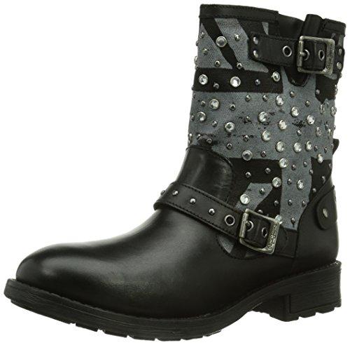 Pimlico Boots London Flag femme Noir Pepe Jeans aETwAT