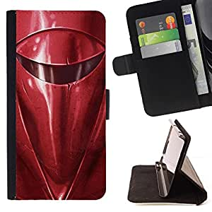 - Star Wars Red/ Personalized Design Custom Style PU Leather Case Wallet Flip Stand - Cao - For Samsung Galaxy J3