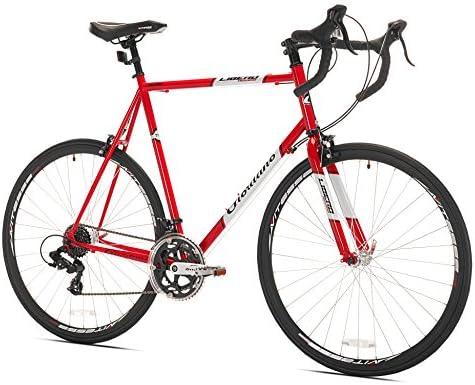Amazon.com : Giordano Libero Acciao Road Bike, Large/63cm : Sports ...