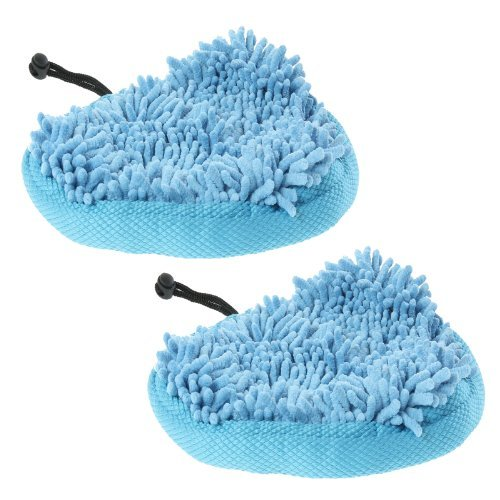 First4Spares Washable Coral Microfibre Cloth Cleaning Pads For Pifco 6 In 1 Steam Mops Pack Of 2