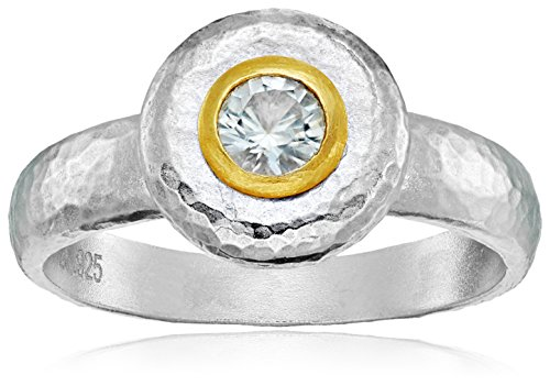 GURHAN ''Droplet'' Sterling Silver White Sapphire Ring, Size 7 by Gurhan