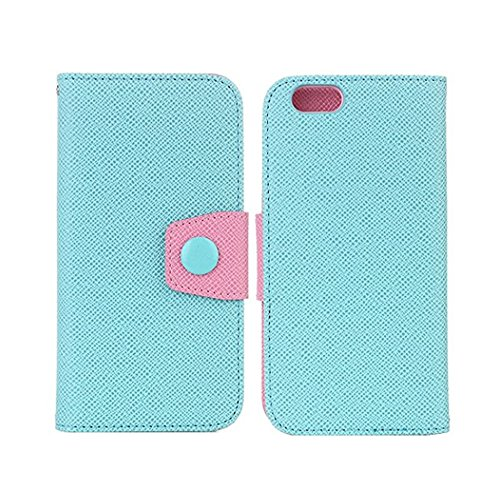 Wallet Cover for iPhone 7, 4.7 inch Phone Case for Girls, Sammid Wallet Pu Leather Smart Flip Folio Case with Card Slot for iPhone 7 - Sky Blue by Sammid