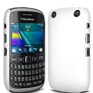 ONX3 Blackberry Curve 9320 Blanco duro protector caso piel cubierta + Protector de pantalla Guardia