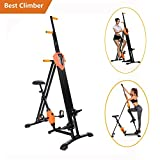 Meflying Vertical Climber, Climbing Machine – Full Total Body Workout Fitness Folding Cardio Climber Exercise Machine [US Stock]