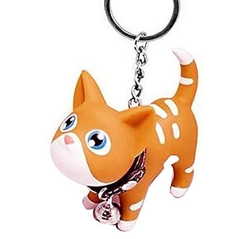 Sunlera Gatito del Gato Llavero Animal de la Historieta de ...