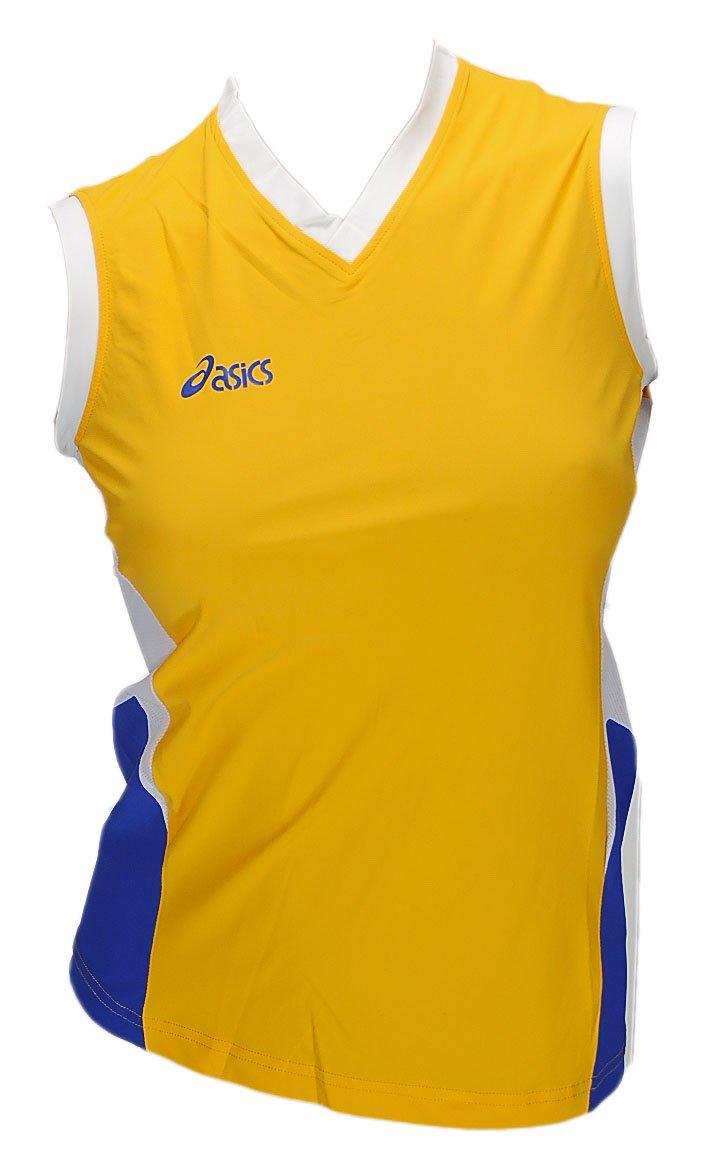 Asics Indoor Volleyball Handball Teamsport Sportshirt Trikot Offence Sleeveless Top Damen 0301 Art. 648205 Größe L