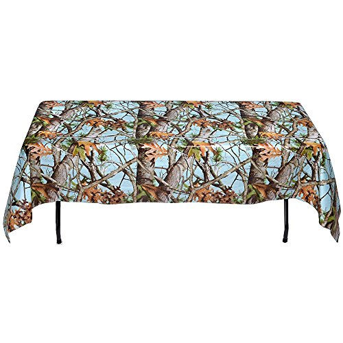 Baby Blue Camo Table cover (54