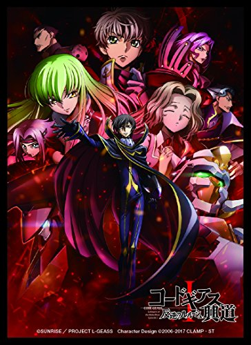 Code Geass Lelouch of the Rebellion Group Episode 1 65pcs Trading Card Game Character Sleeve Anime Art F Sleeve Collection from Fields