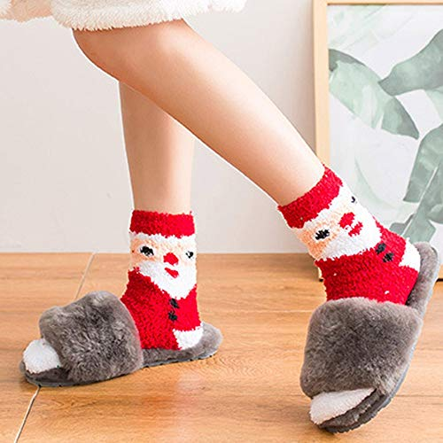 Womens Christmas Holiday Casual Socks, AKwell Colorful Fun Cotton Crew Socks for Novelty Gifts by AKwell (Image #2)