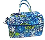 Vera Bradley Grand Traveler Updated with Solid Interior 14371 (Katalina Blue)