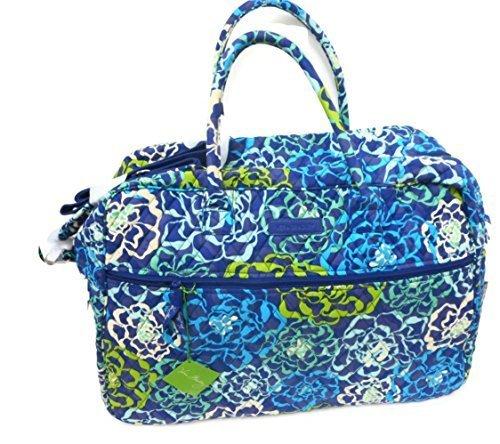 Vera Bradley Grand Traveler Updated with Solid Interior 14371 (Katalina Blue)