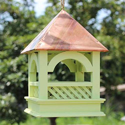 C JXXDDQ Wild Bird Hanging Feeder Garden Seed Feeders Weatherproof (color   C)