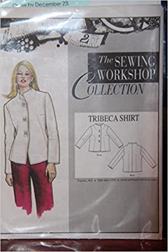 The Sewing Workshop Collection Pattern Tribeca Shirt Size Xs Xxl