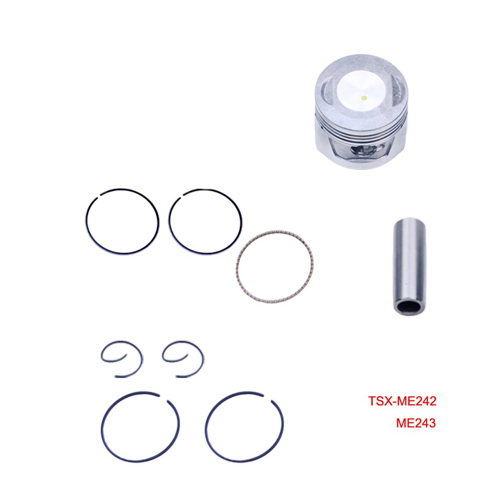 FLYPIG 47mm Bore Piston Ring Kit for Honda 70CC CRF70F XL70 XR70 C70 CT70 ATC70 CL70 ATV-PARTS
