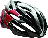 Bell Array Bike Helmet – Silver/Red/Black Velocity Small For Sale