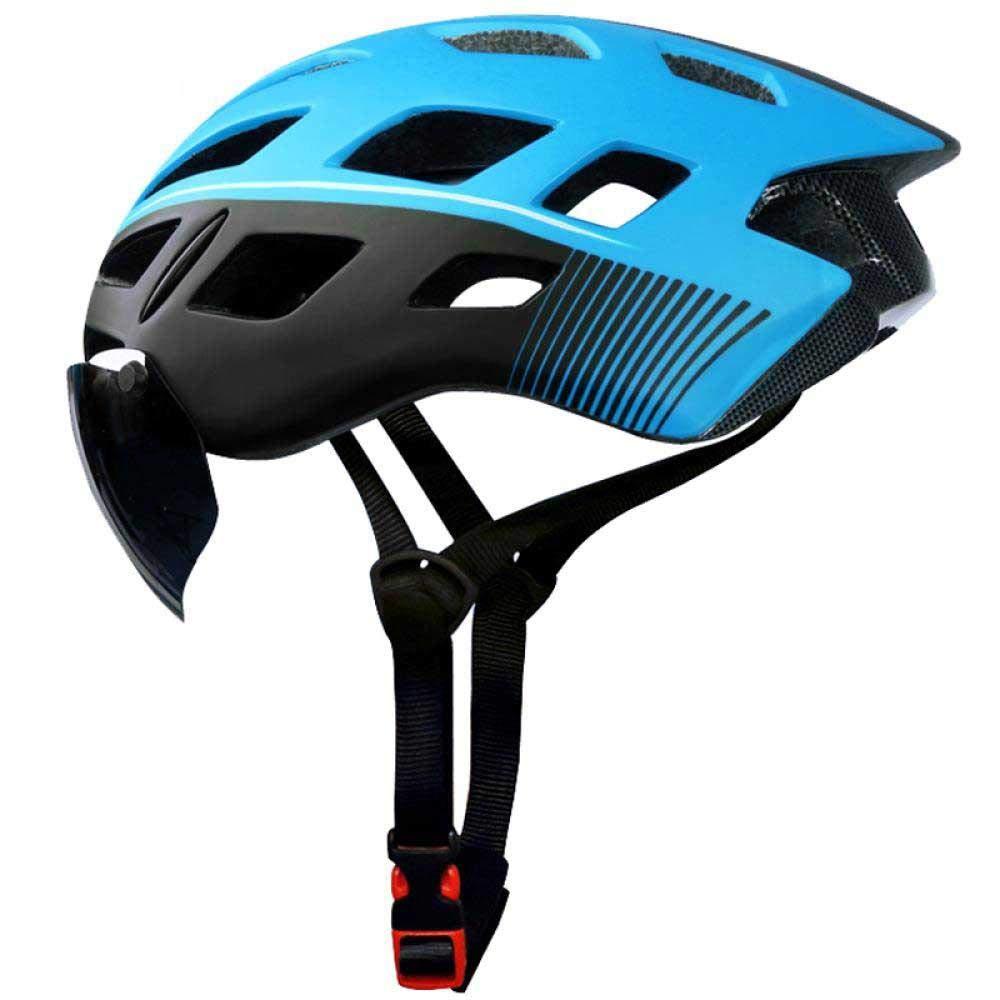 buena calidad X-TK-0704-B LIUDATOU Casco de Ciclismo Eps Insect Insect Insect Net Road MTB Bike Helmet Casco de Bicicleta de Ciclismo Moldeado integralmente a Prueba de Viento 2 Lentes  opciones a bajo precio