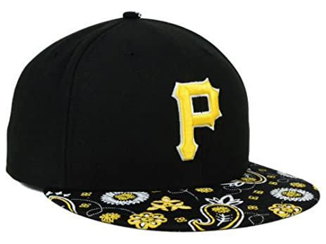 new arrival 2c555 06fb3 ... shopping new era pittsburgh pirates fitted size 7 1 2 paisley time black  gold hat 3b304