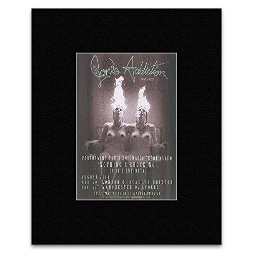 Janes Addiction - UK Tour 2014 Mini Poster - 13.5x10cm