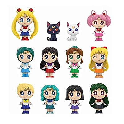Funko Mystery Mini: Sailor Moon - Sailor Moon Collectible Vinyl Figure: Funko Mystery Mini:: Toys & Games