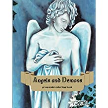 Angels And Demons Grayscale Coloring Book