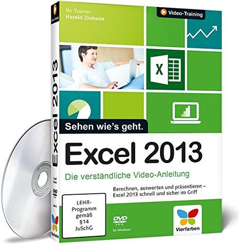 Excel 2013   Die Verständliche Video Anleitung