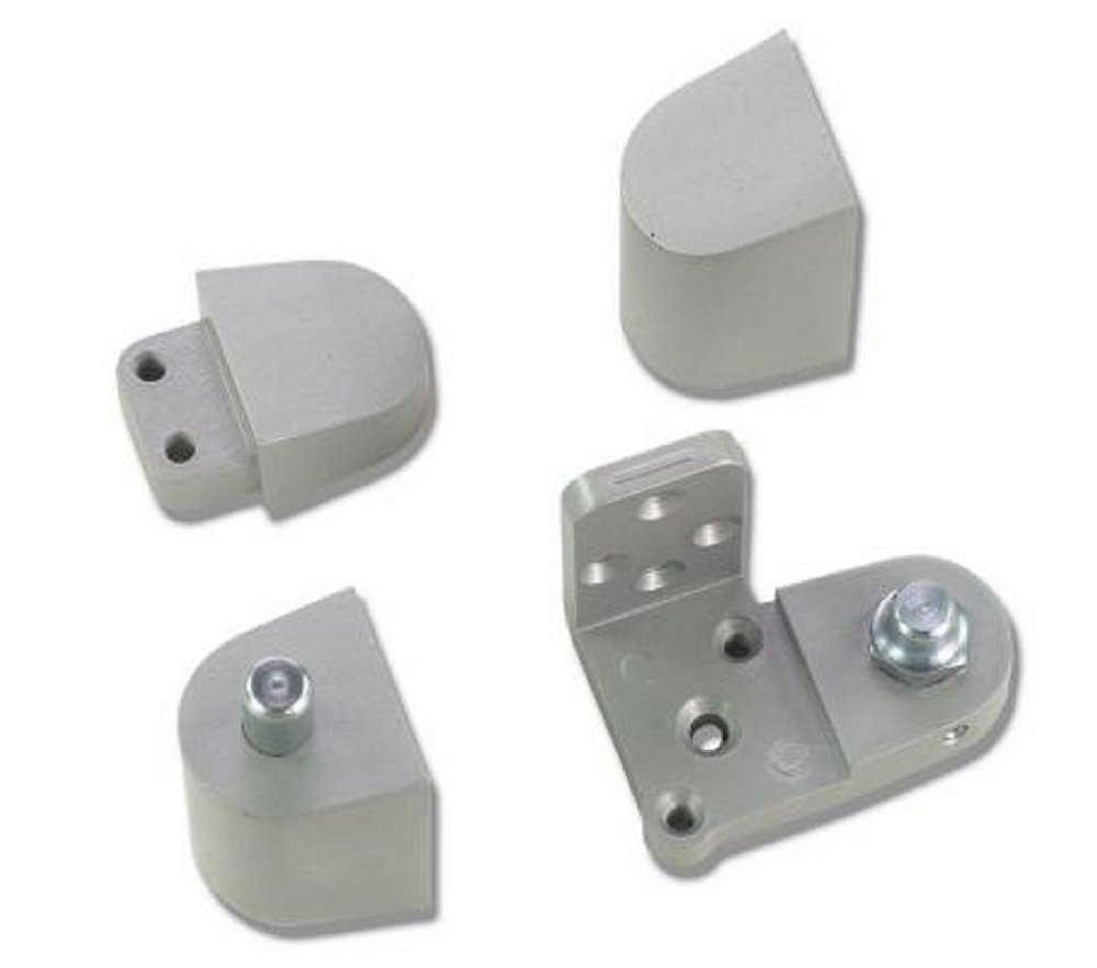 Galvanized Coat Finish 1-7//16 Width x 4-1//2 Height x 0.028 Thick Rockwood HS42 Steel Hinge Shim Pack of 50