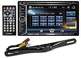 "Farenheit TI-623B 2-Din in-Dash 6.2"" Car Monitor DVD/SD/USB+Bluetooth + Camera"