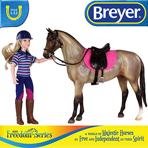 Breyer Freedom Series (Classics) English Horse & Rider Doll Set | (1:12 Scale) | Model #61114 - http://coolthings.us