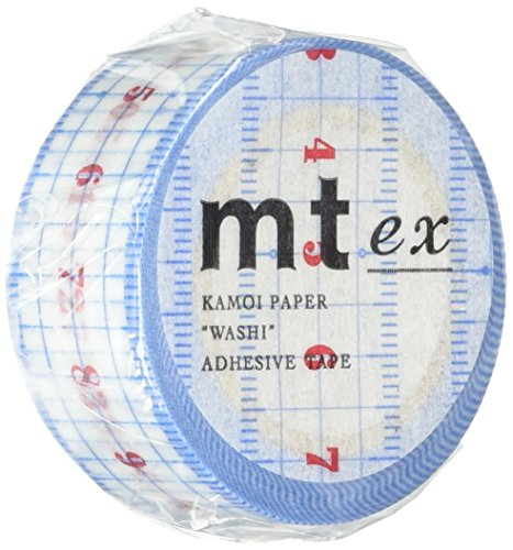 MT Washi Masking Tape, Ruler, 20mm x 10m (MTEX1P96)