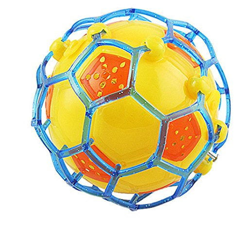 Sikye Light Jump Ball,Creative Cute Electric Flash Music Dance Football Fun Bouncing Ball
