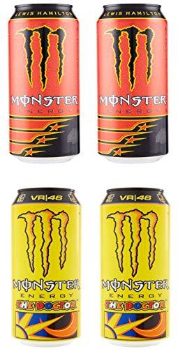 Monster : Set of 4 Energy Drinks