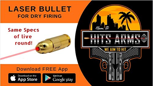(Hits Arms 9mm Luger Training Laser Bullet)