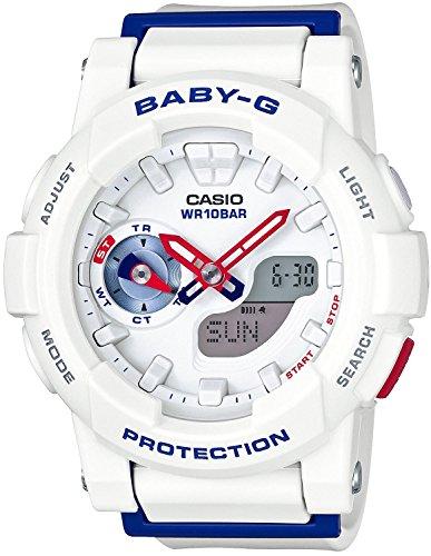 CASIO BABY-G White Tricolor Series BGA-185TR-7AJF Women's Watch JAPAN IMPORT