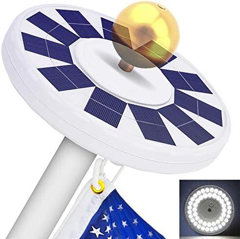 48 LED Solar Flagpole Light