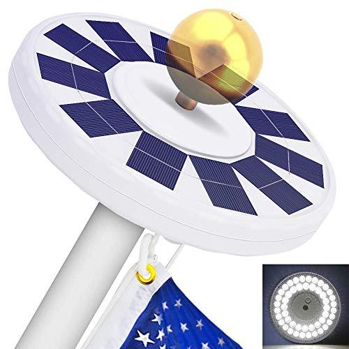 48 LED Solar Flagpole