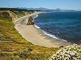 Oregon Coast at Cape Blanco Canvas Print by Michael Tidwell Photography