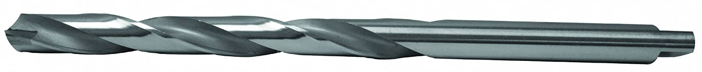 Carbide Tipped Taper Length Drill Flute Length: 124MM Diameter: 15.5MM OAL: 222MM Decimal Equivalent: .6102