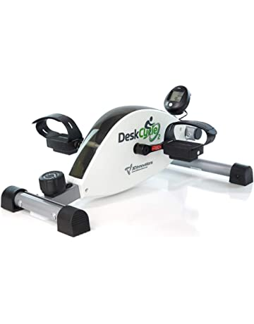 DeskCycle2 New, Height Adjustable, Premium Quality Magnetic Resistance. Low Profile, Whisper Quiet, Mini Exercise Bike, Turn any Chair into an Invigorating Fitness Station.