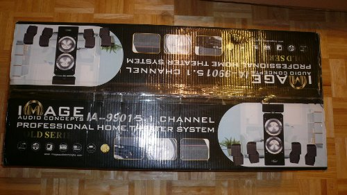 Image Audio Concepts Ia-9901 5.1 Professional Home Theater System Gold Series Home Theater Concepts