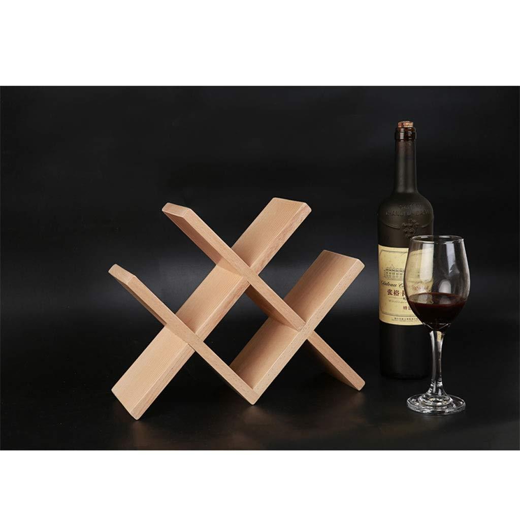 Bandeja De Vino De Madera Sólida, Botella De Vino Nórdica ...