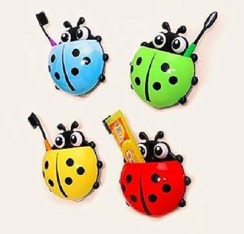bestga Cute Cartoon Ladybug Kids Wall Suction Cup Mount ...