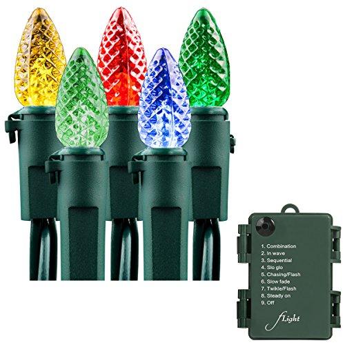 C3 Led Christmas Lights.Led Christmas Lights Battery String Lights Flight